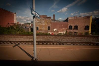 """Michael Ruggiero: Untitled 1, from the series """"OVER THE RAILS"""""""