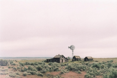 Miles Bowers: Derelict Cabin