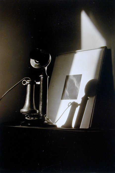 Dorothy Norman, An American Place - Telephone and Alfred Stieglitz Equivalent, 1930's; Collection SFMOMA, Purchase; © 2000 Center for Creative Photography, University of Arizona Board of Regents