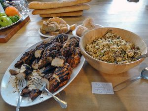 Some of the fabulous food at The Photo Review Garden Party, June 14, 2014