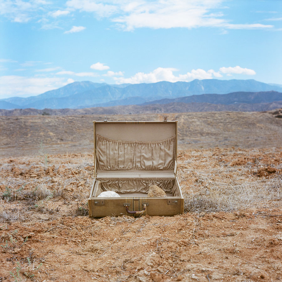 Aline Smithson: Desert Suitcase, from Due West, 2013