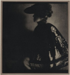 Eduard Steichen: Poster Lady1906, photogravure, published in Camera Work, The Steichen Supplement, April 1906