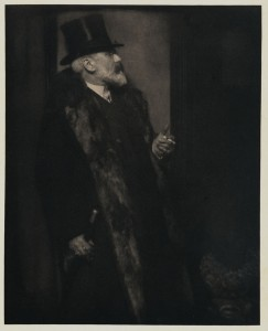 Eduard Steichen: Wm. M. Chase, 1906, photogravure, published in Camera Work, The Steichen Supplement, April 1906