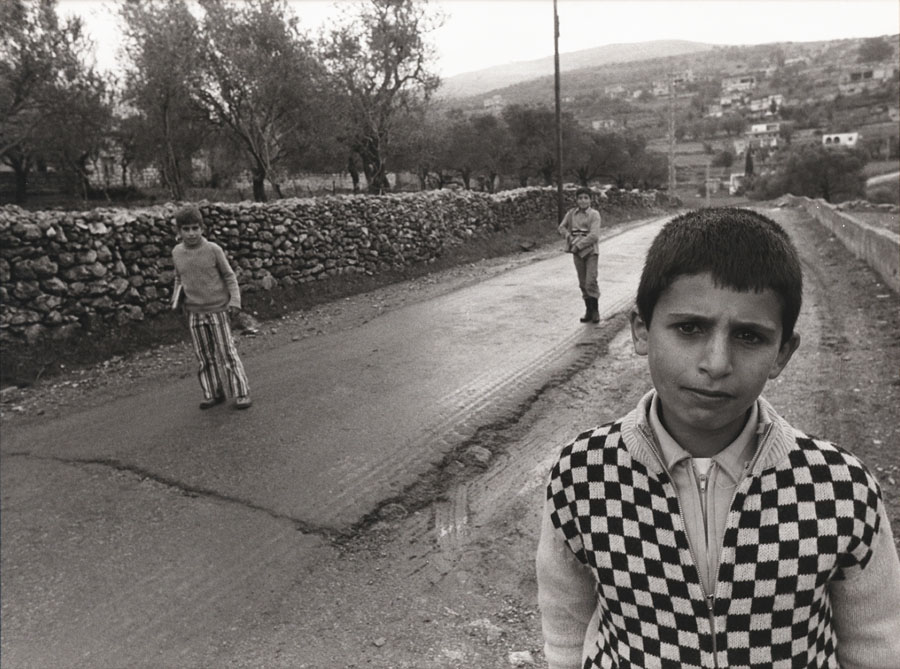 Richard Lobell: Arab Children, Galil, Israel