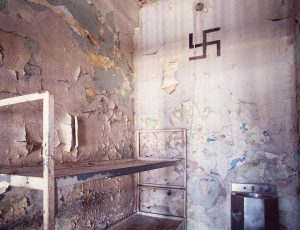 Lee Saloutos: Death Row Cell, Housing Unit 3, Missouri State Penitentiary, #1 (Swastika)