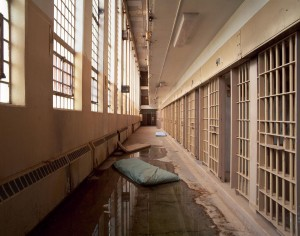 Lee Saloutos: Mattresses in Cell Block, Penitentiary New Mexico, Santa Fe, NM, #2