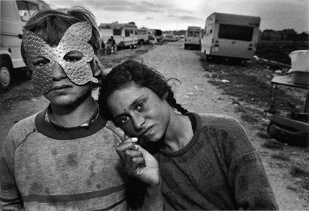 Gypsy camp, Barcelona, Spain, 1987