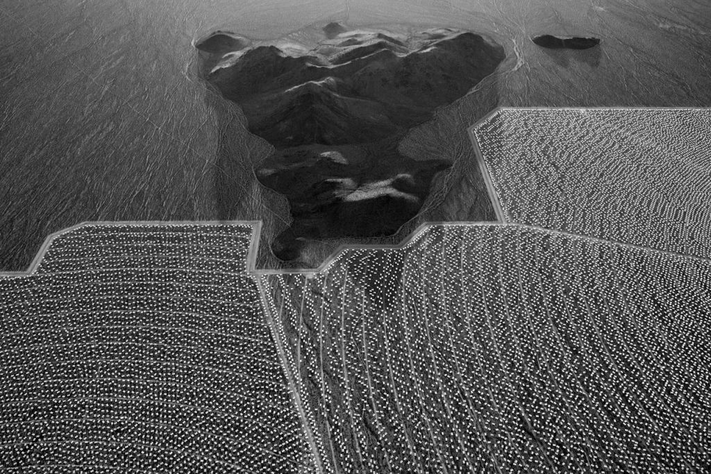 "Jamey Stillings: #9499 from the series ""The Evolution of Ivanpah Solar"""