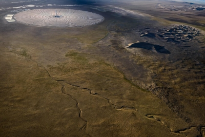 Jamey Stillings:#3805, 26 June 2014, Crescent Dunes Solar, a 110MW concentrated solar power plant near Tonopah, Nevada
