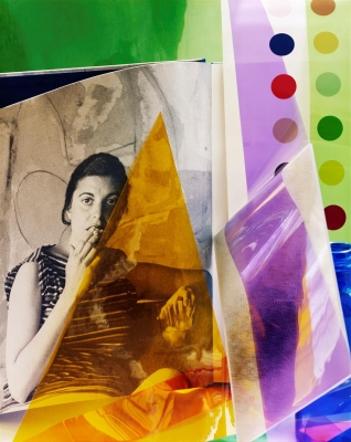 "Tracy Hoffman: Helen Frankenthaler and the Dot Motif, from the series ""A Studio of One's Own"""