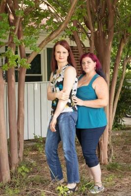 B. Proud: Faith and Kim, transgender couple