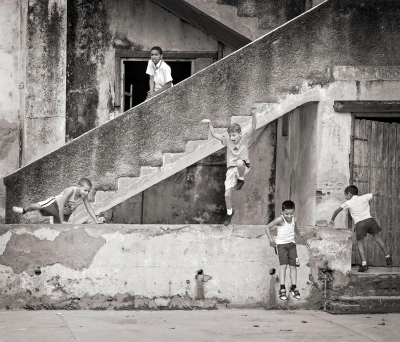 Jay Seldin: Boys During Recess, Mantanzas, Cuba
