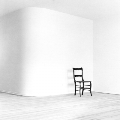 Arnold Kastenbaum: Chair In Empty Room