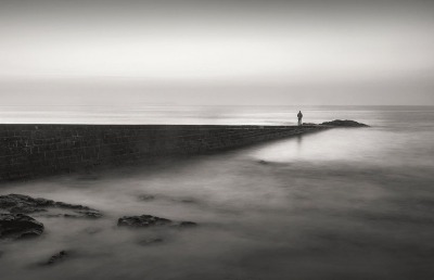 Mitchell Anolik: Man on Jetty