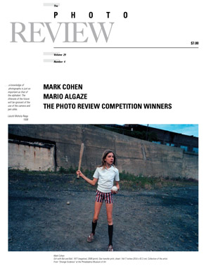 The Photo Review Volume 29 Number 4 - Featuring: Mark Cohen, Mario Algaze, and The Photo Review Competition Winners