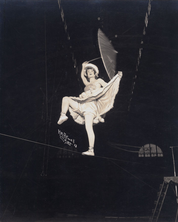 H. A. Atwell: High Wire Circus Performer, 1920s