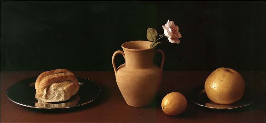 Stanley Wulc: Untitled Still Life with grapefruit